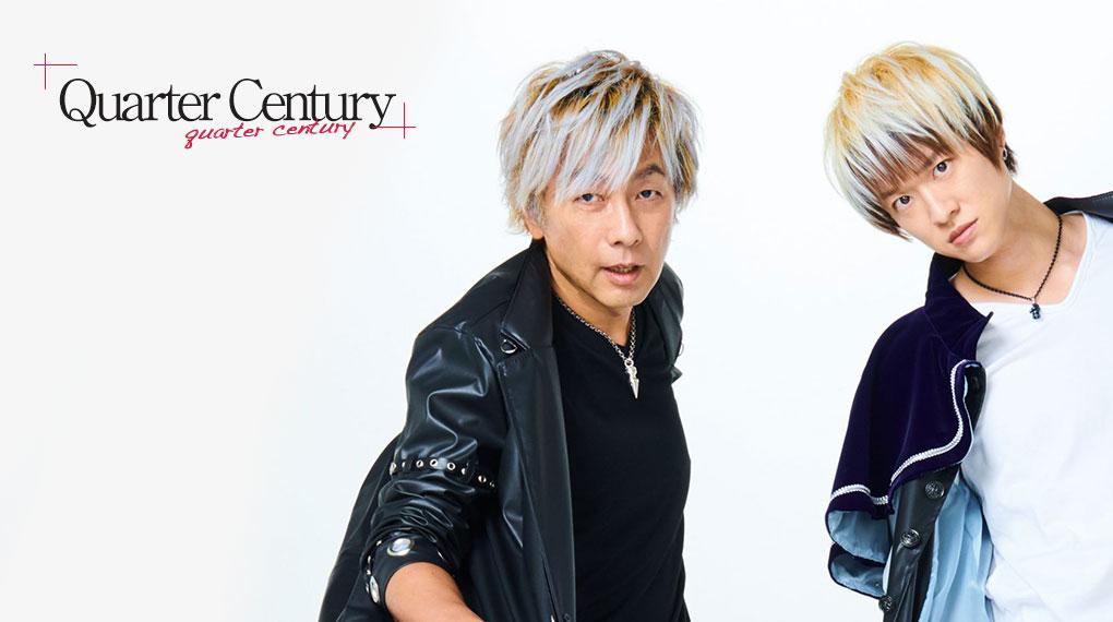 Quarter Century – LIVE – PASTビジュアル