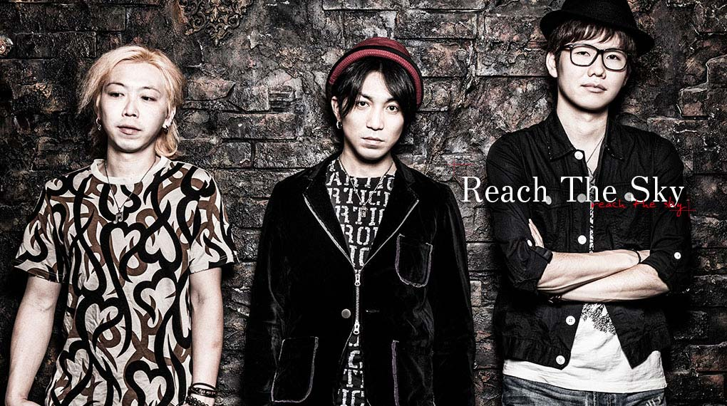 Reach The Sky – SNS/HPビジュアル